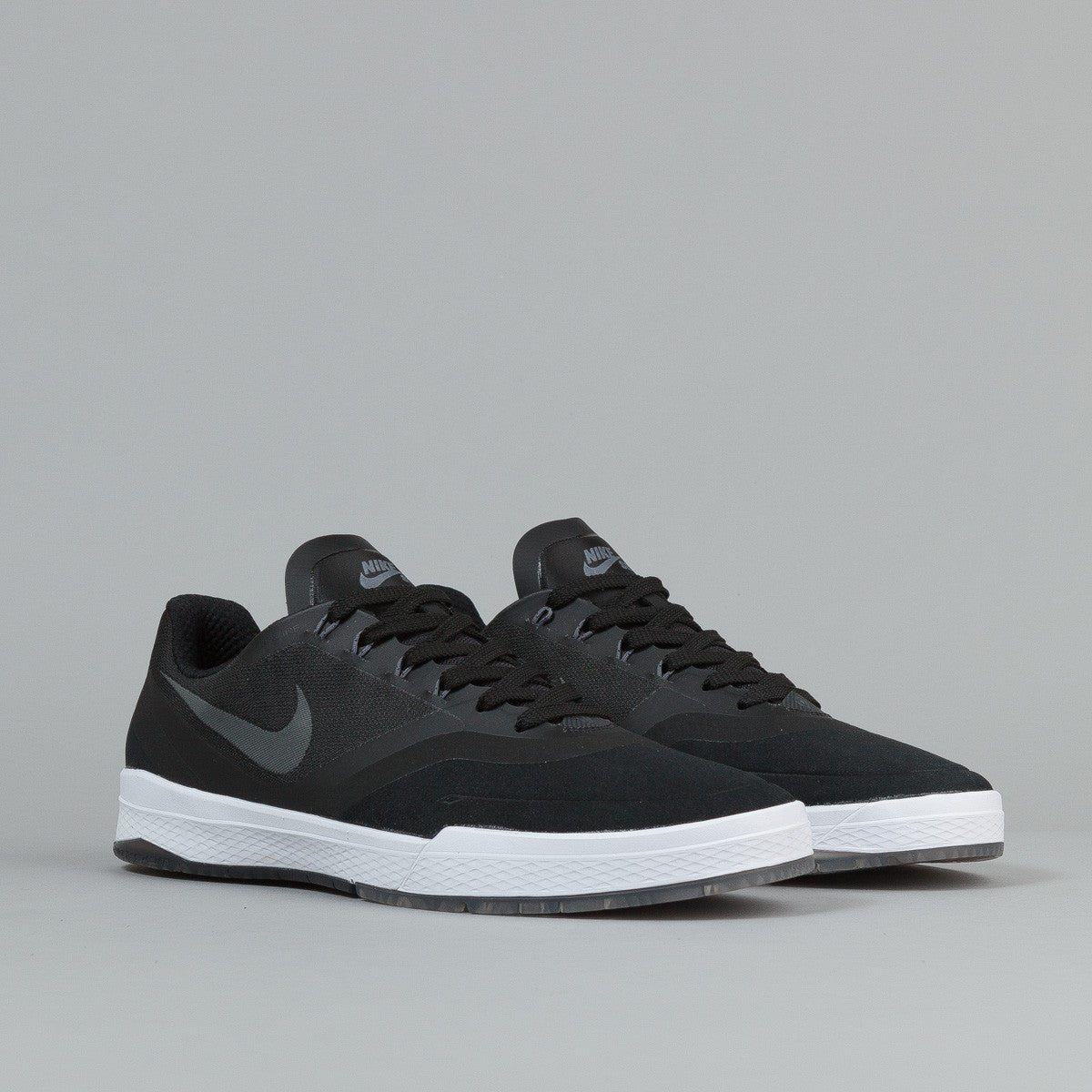 Nike SB Paul Rodriguez 9 Elite Shoes - Black / Cool Grey - White