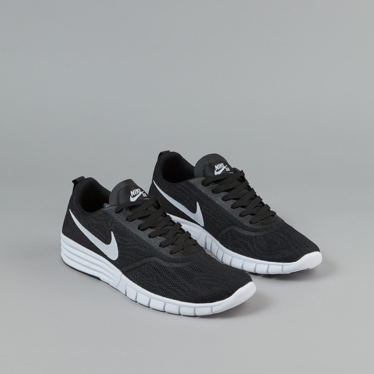 Nike SB Paul Rodriguez 9 R/R Shoes - Black / White - Black