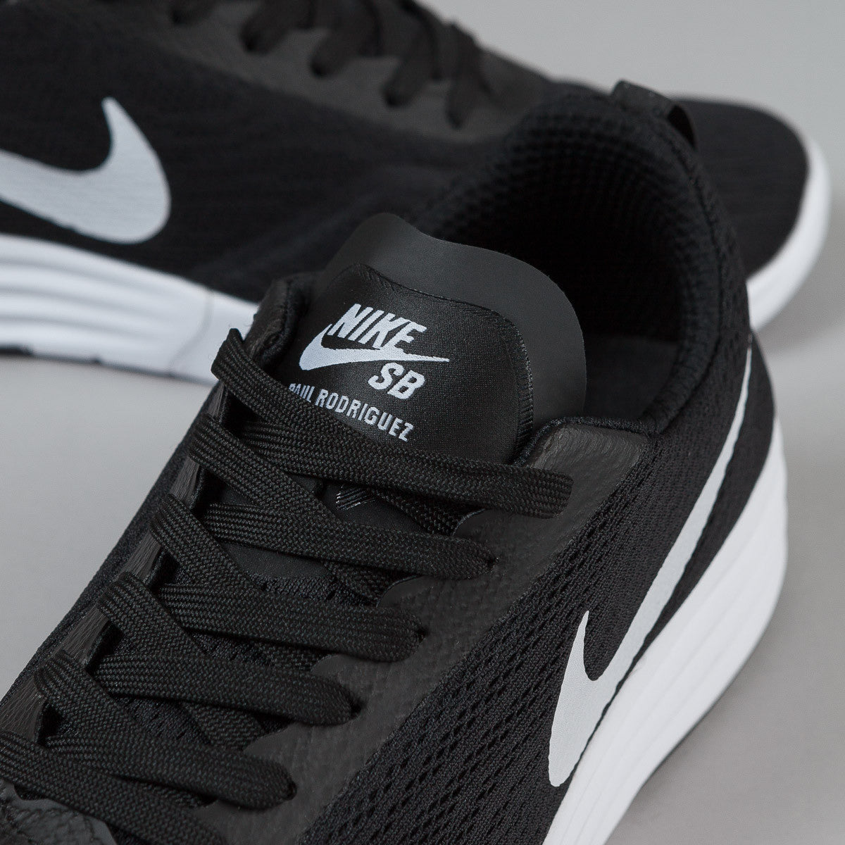 ... Nike SB Paul Rodriguez 9 R/R Shoes - Black / White - Black ...