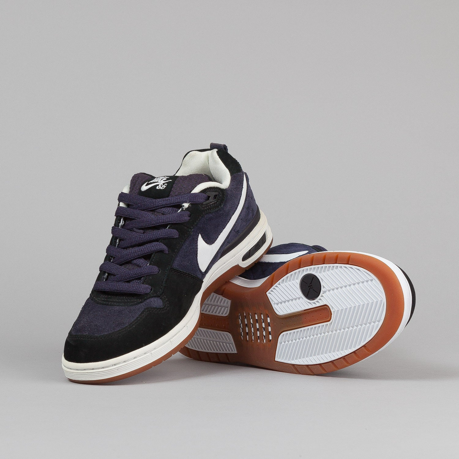Nike SB Paul Rodriguez Shoes - Cave Purple / White / Black
