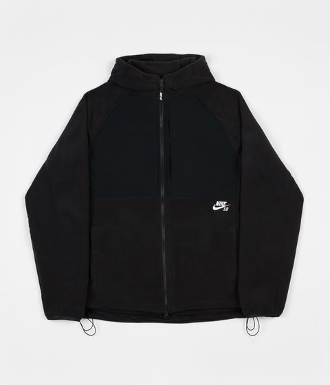 Nike SB Polartec Winterized Full Zip Hoodie - Black