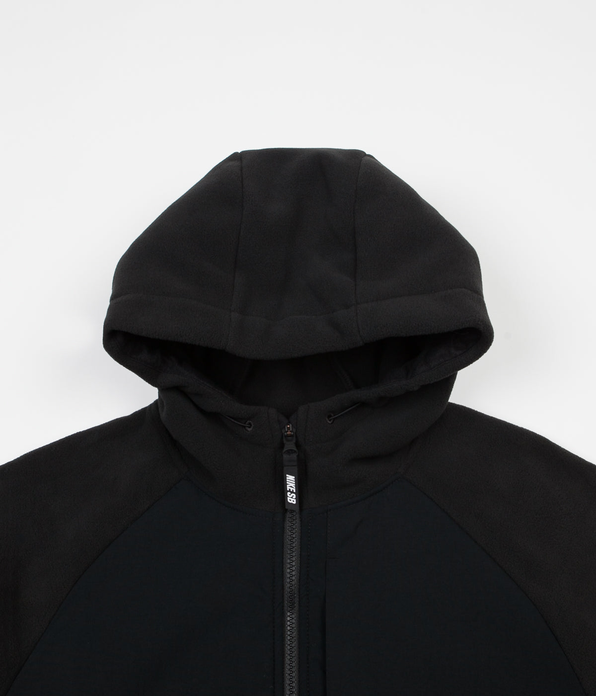 fde72bd8ae91b ... Nike SB Polartec Winterized Full Zip Hoodie - Black ...