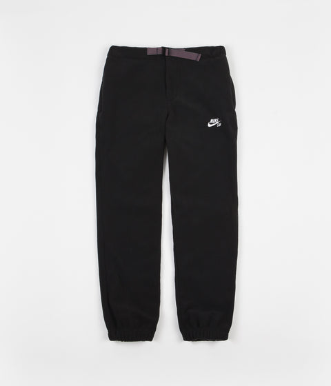 Nike SB Polartec Sweatpants - Black / White
