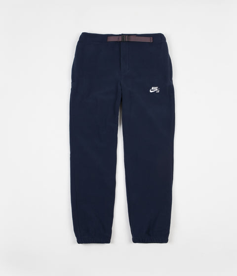 Nike SB Polartec Sweatpants - Obsidian / White