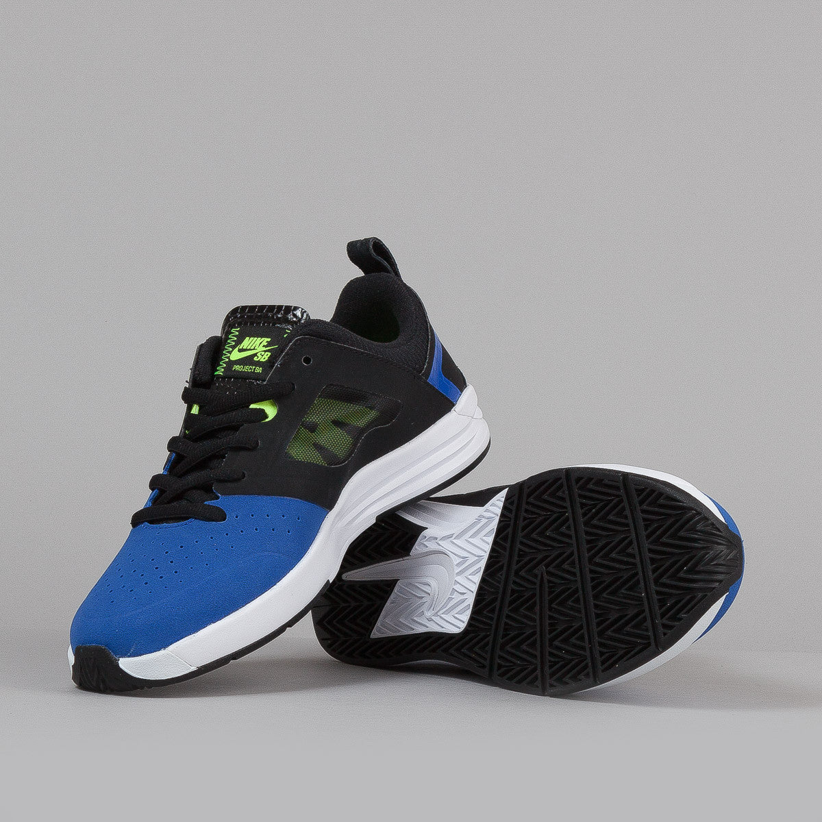 Nike Sb Project BA Game Royal / Volt - Black