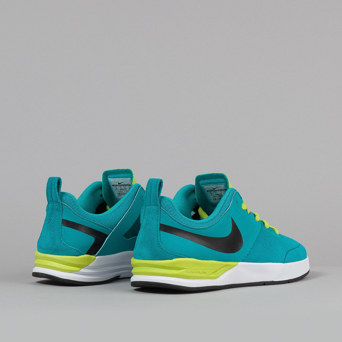 Nike SB Project BA Turbo Green / White - White