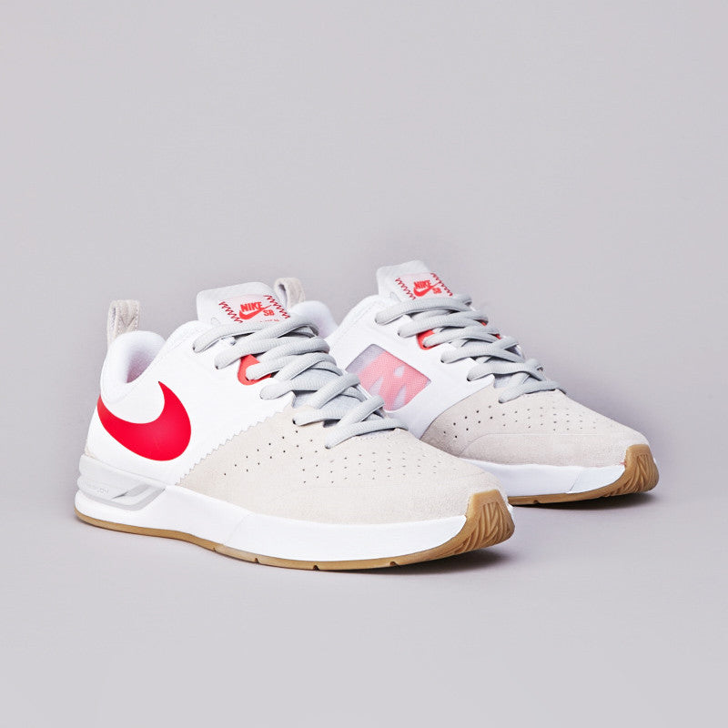 Nike Sb Project BA White / Crimson - Crimson - Light Bone