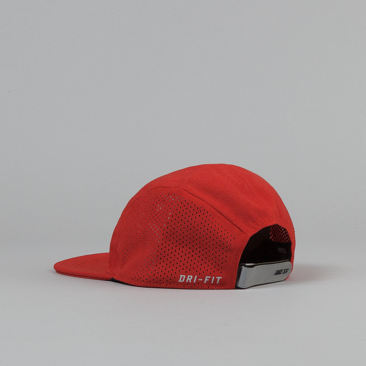 Nike SB Reflective Icon 5 Panel Cap - Cinnabar / Black