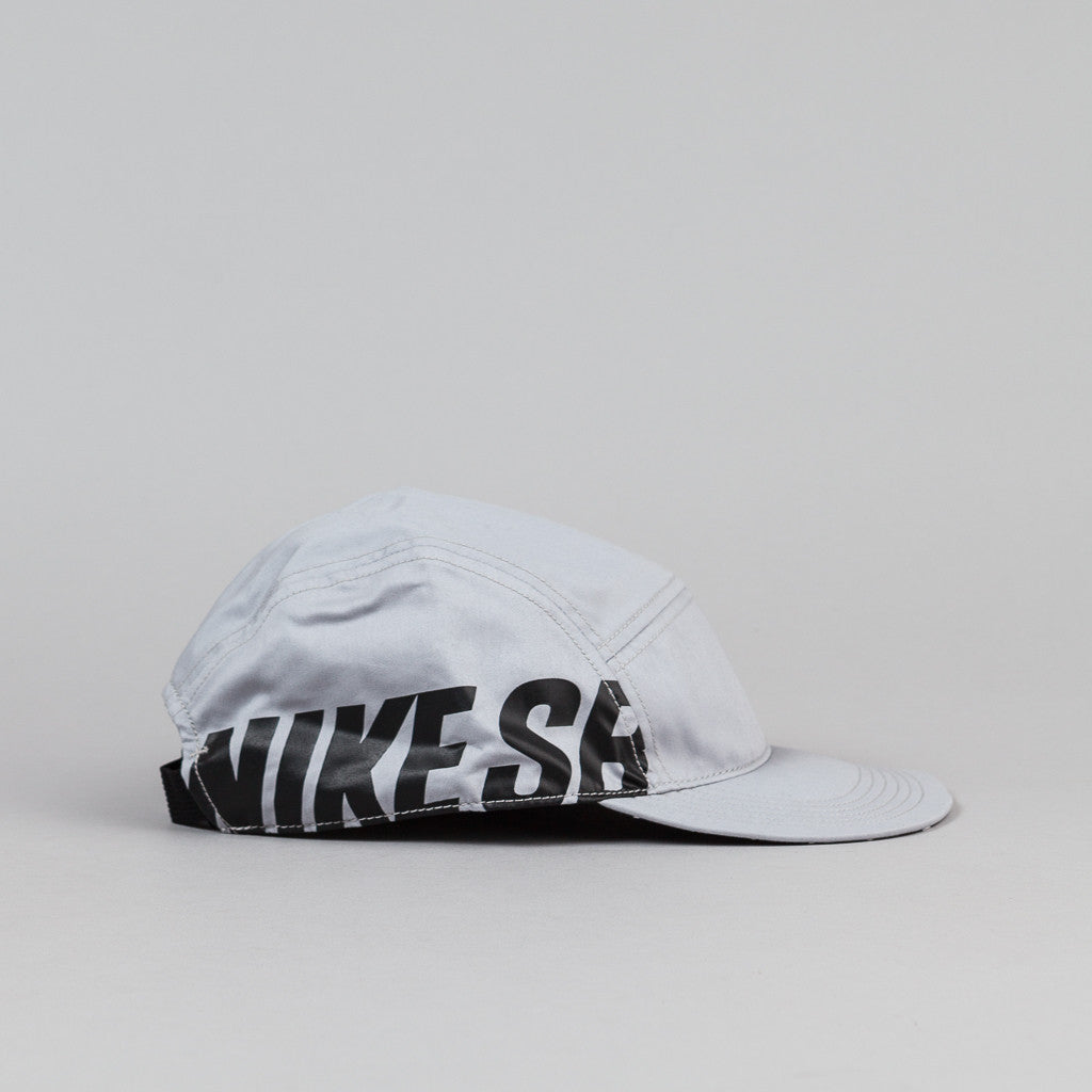 Nike SB Reversible 5 Panel Cap - Wolf Grey / Black