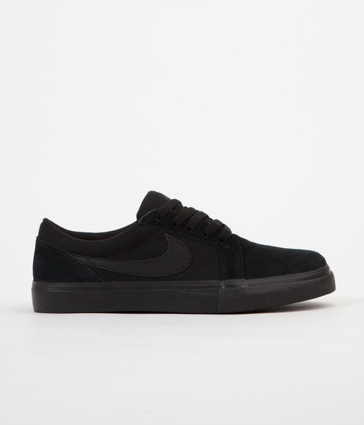 Nike SB Satire II Shoes - Black / Black - Anthracite