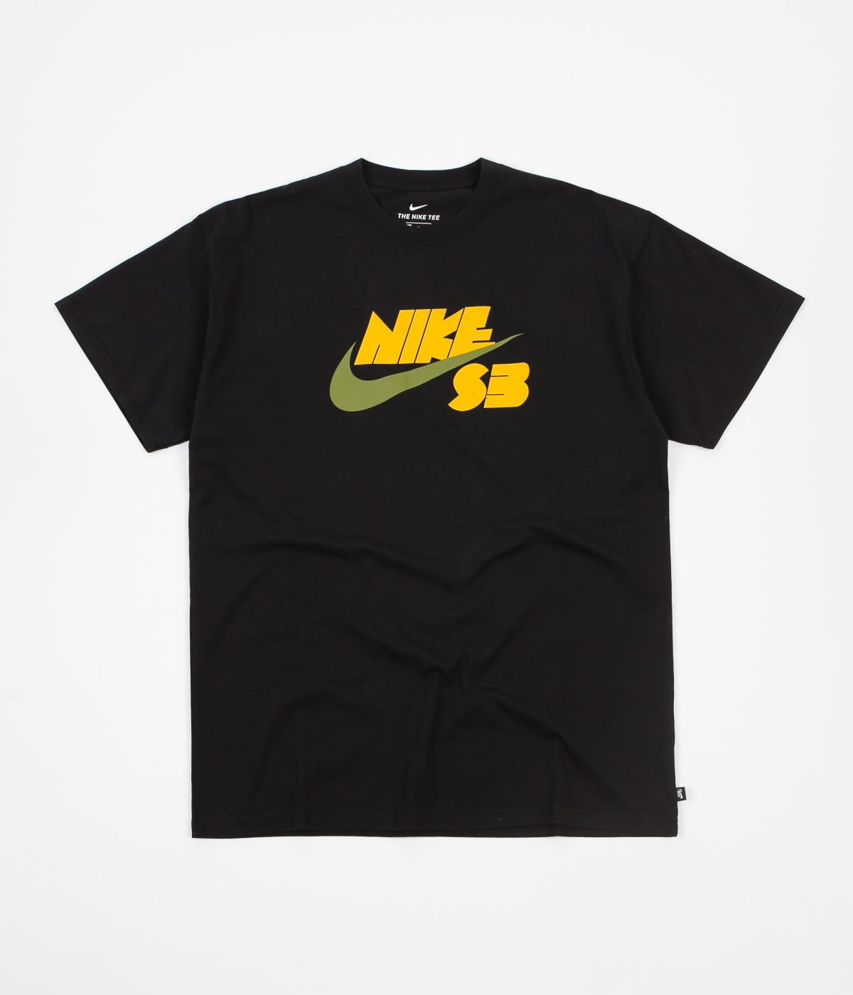 Nike SB Seasonal Logo T-Shirt - Black