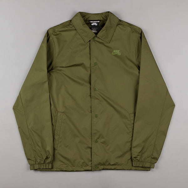 Nike SB Shield Jacket - Legion Green / Palm Green