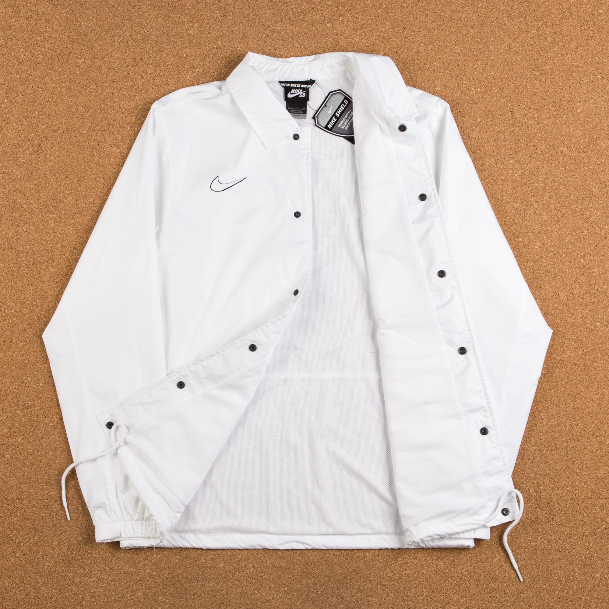 Nike SB Shield Jacket - White / Black
