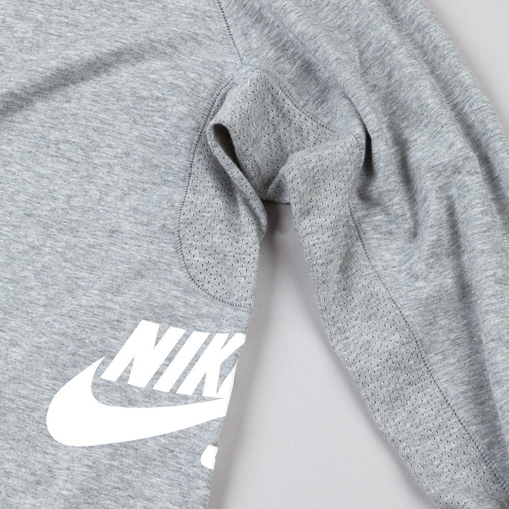 Nike Sb Skyline Dri-Fit Long Sleeve Crew T Shirt Dark Grey Heather