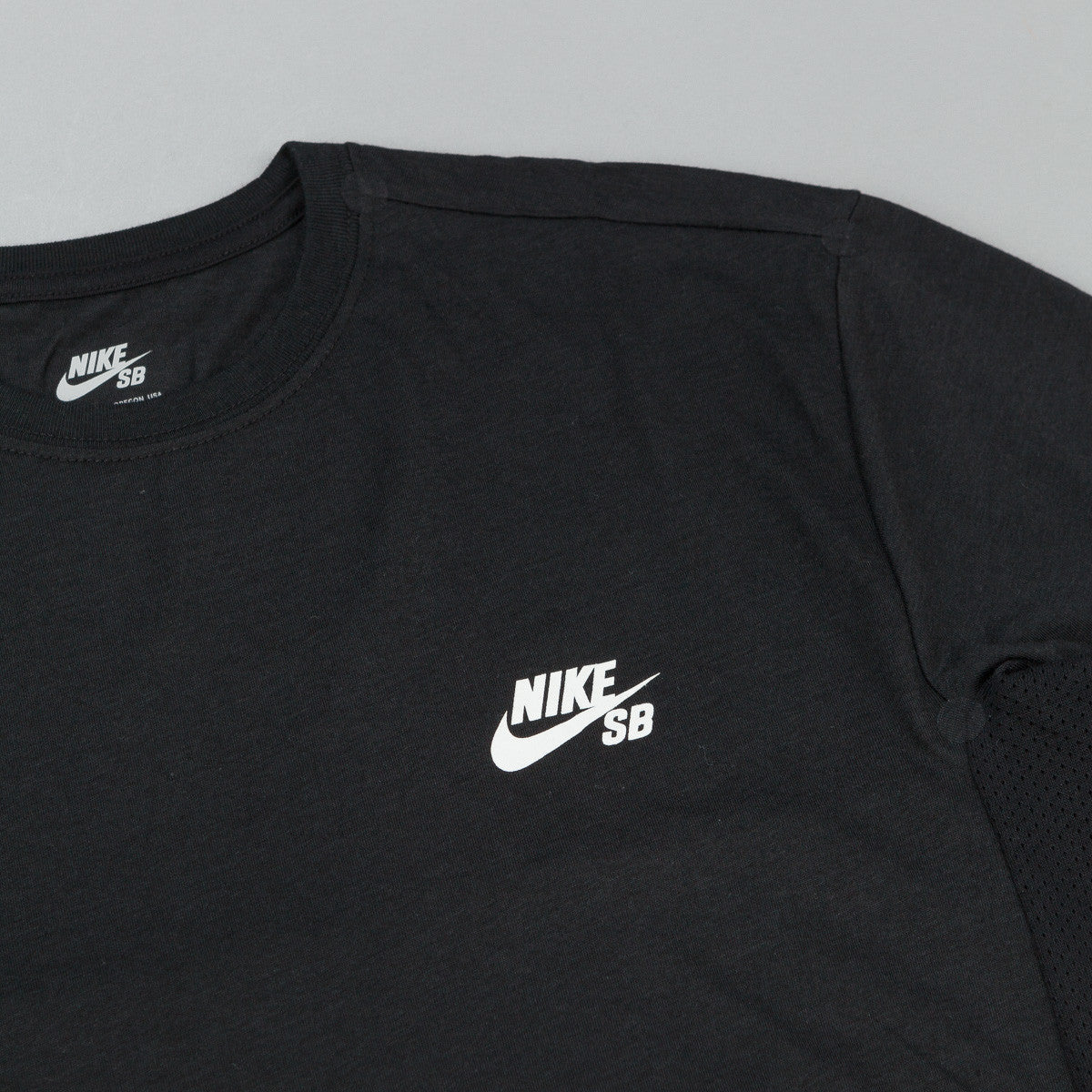 Nike SB Dri-Fit Skyline Cool G T-Shirt - Black / White