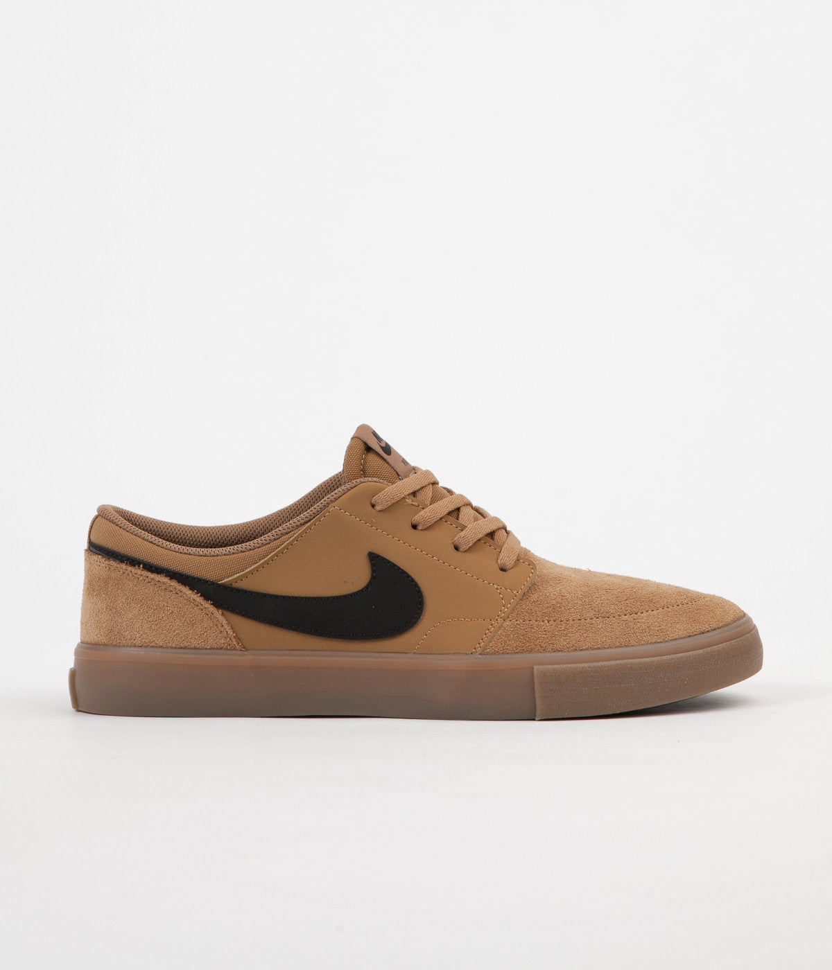 nike sb solarsoft portmore ii shoes golden beige black gum light flatspot. Black Bedroom Furniture Sets. Home Design Ideas