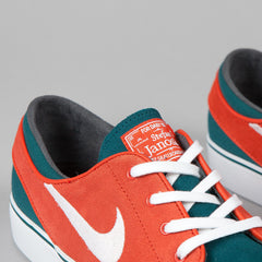 Nike SB Stefan Janoski Dark Sea / White - Team Orange