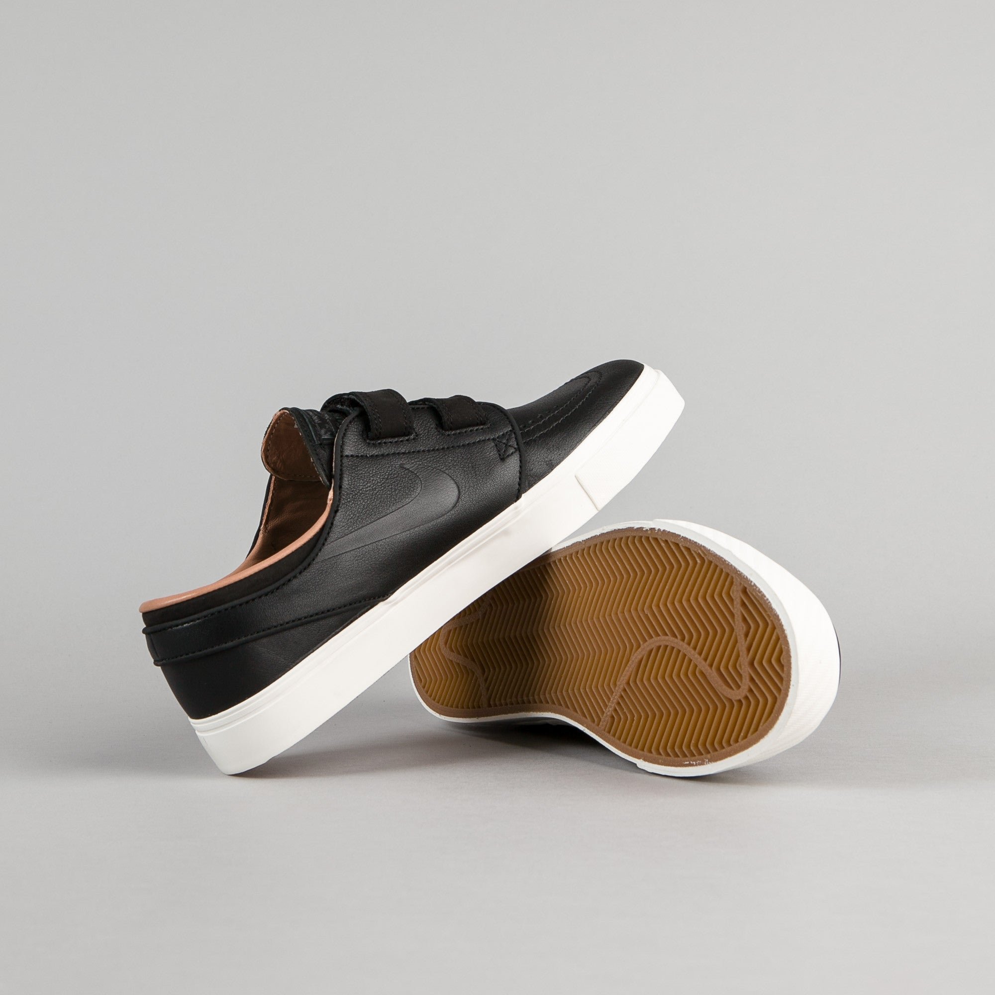 Nike SB Stefan Janoski AC Shoes - Black / Black - Sail - Dusted Clay