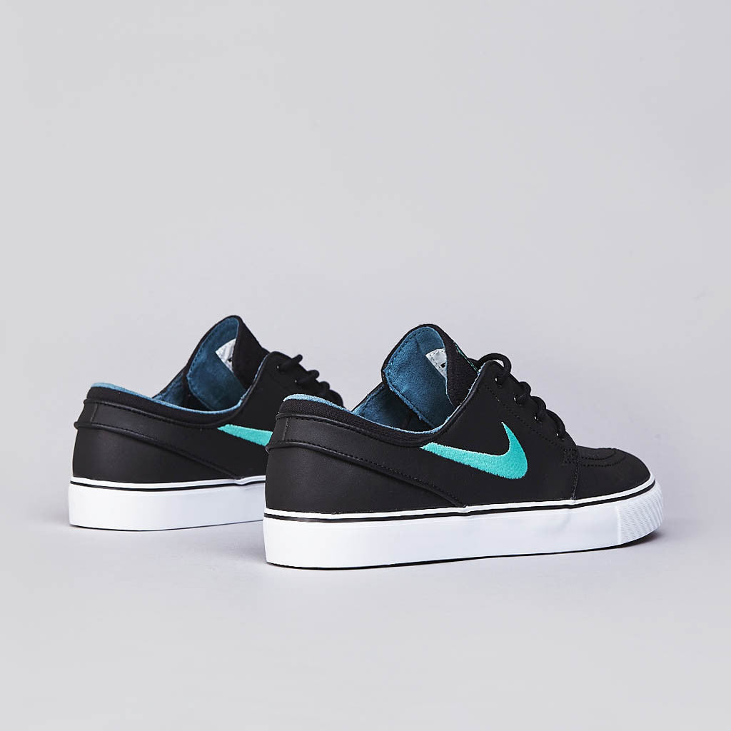 Nike SB Stefan Janoski L Black / Crystal Mint - Night Factor