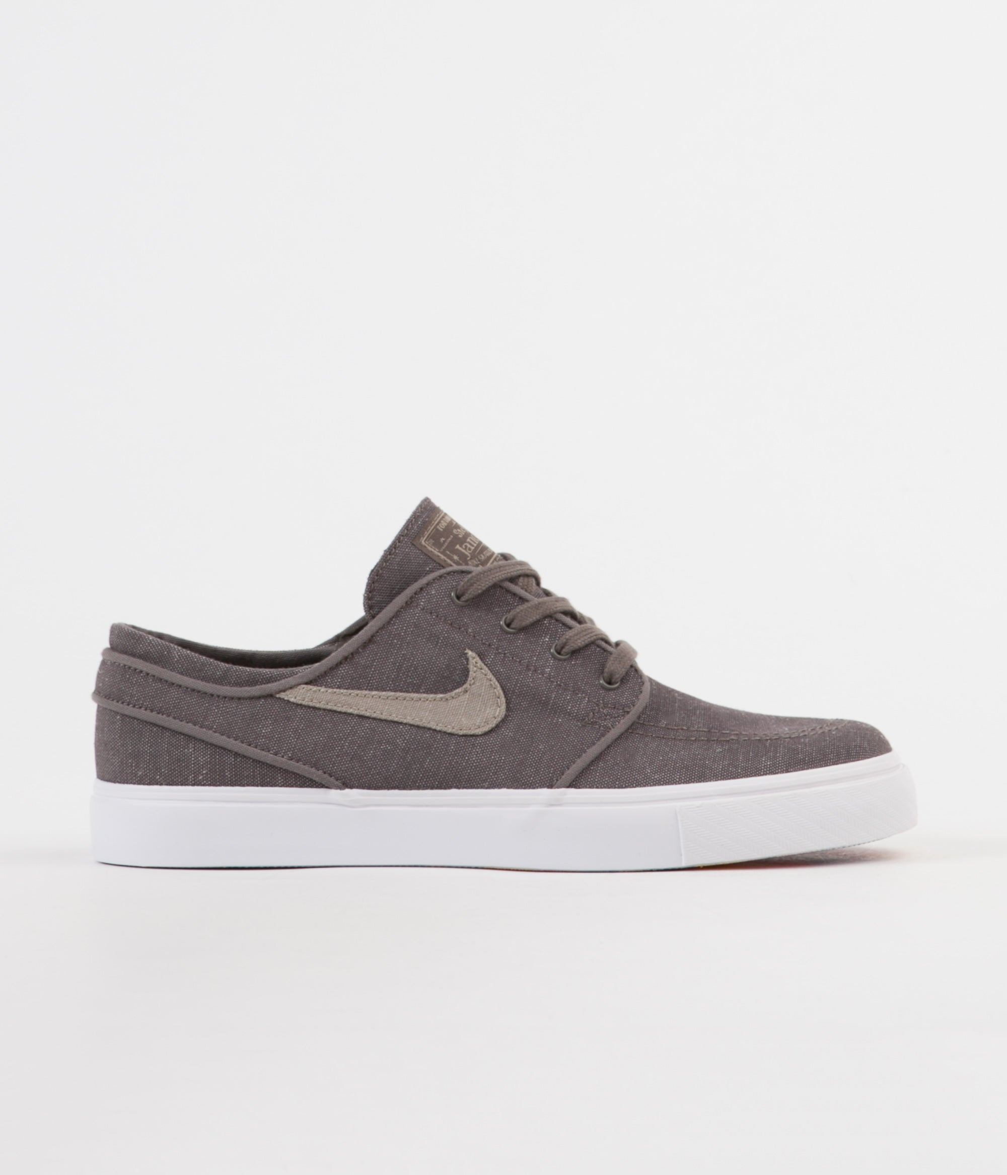 1b23e02021 Nike SB Stefan Janoski Canvas Deconstructed Shoes - Ridgerock   Khaki -  Vintage Coral