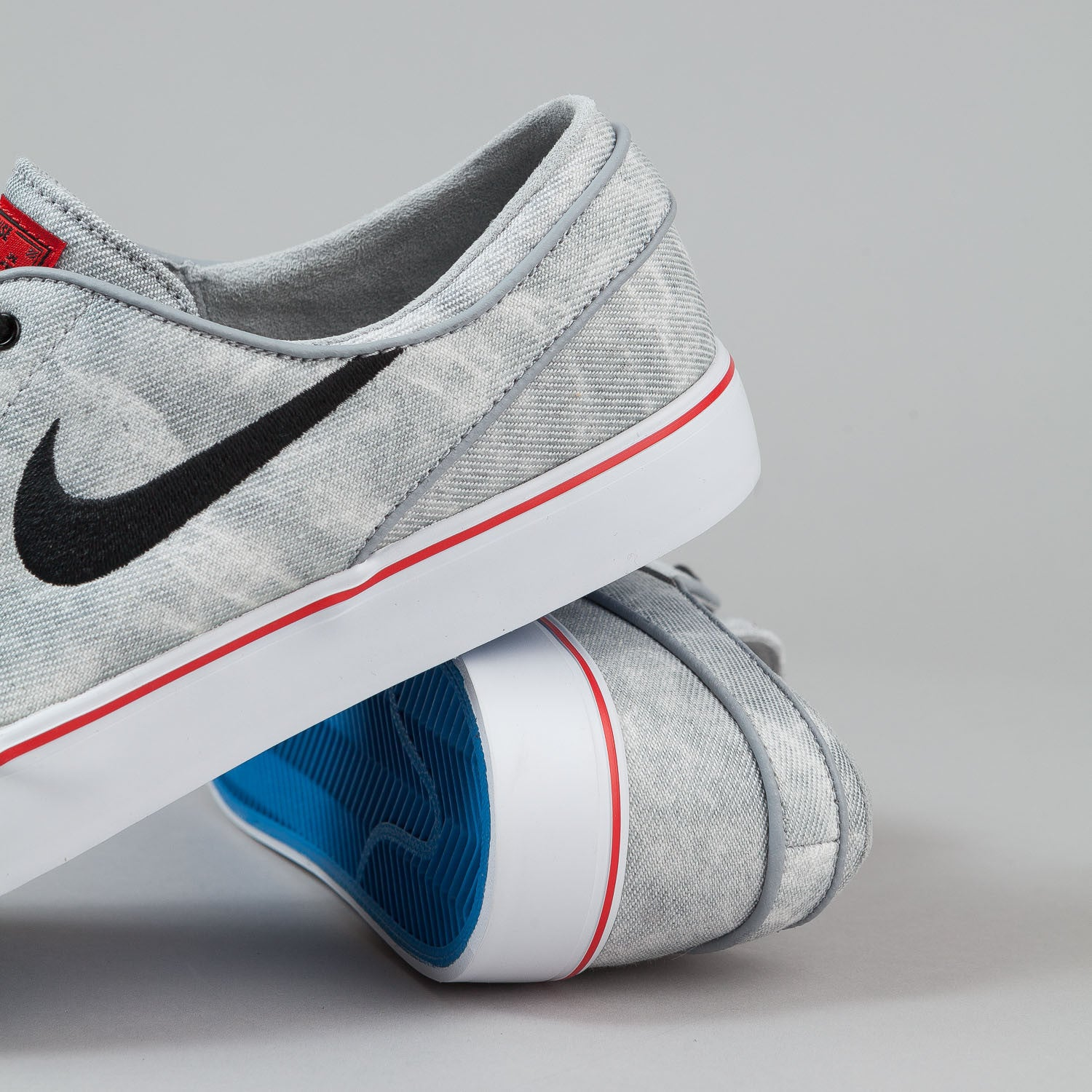 Nike SB Stefan Janoski CNVS PR QS Shoes 'Mexico City' - Wolf Grey / Black / White
