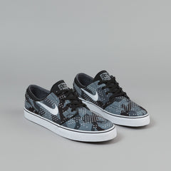 Nike SB Stefan Janoski CNVS PRM Shoes - Wolf Grey / White - Cool Grey - Black