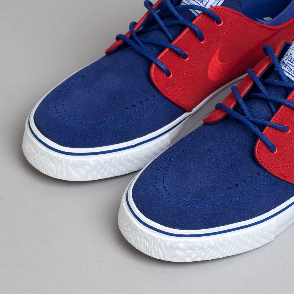 Nike Sb Stefan Janoski Deep Royal Blue / University Red