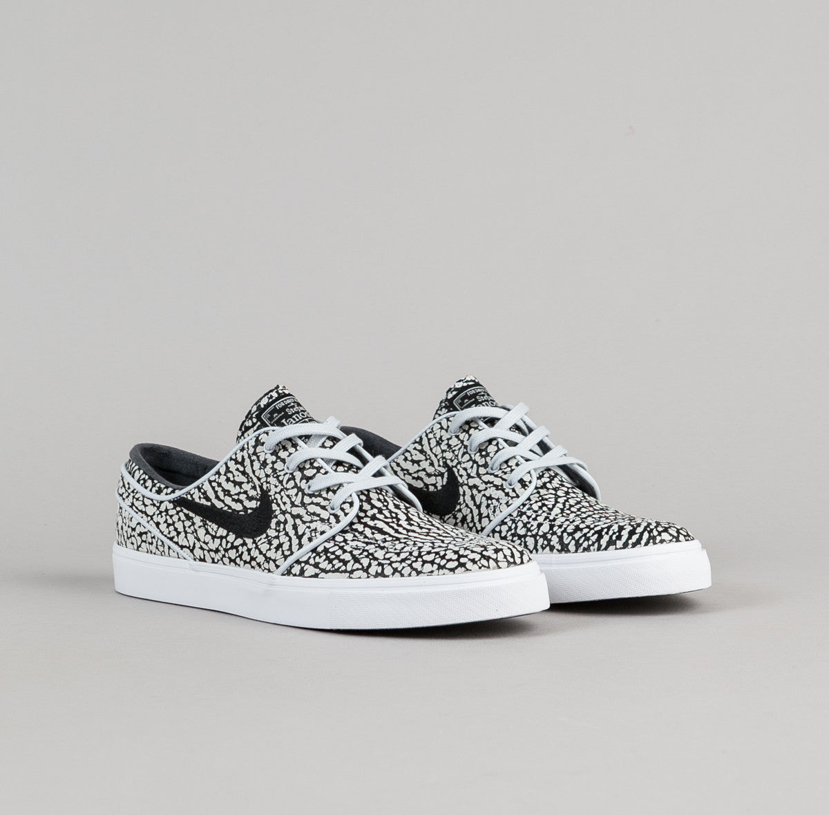 Nike SB Stefan Janoski Elite 'Road Pack' Shoes Pure Platinum Black