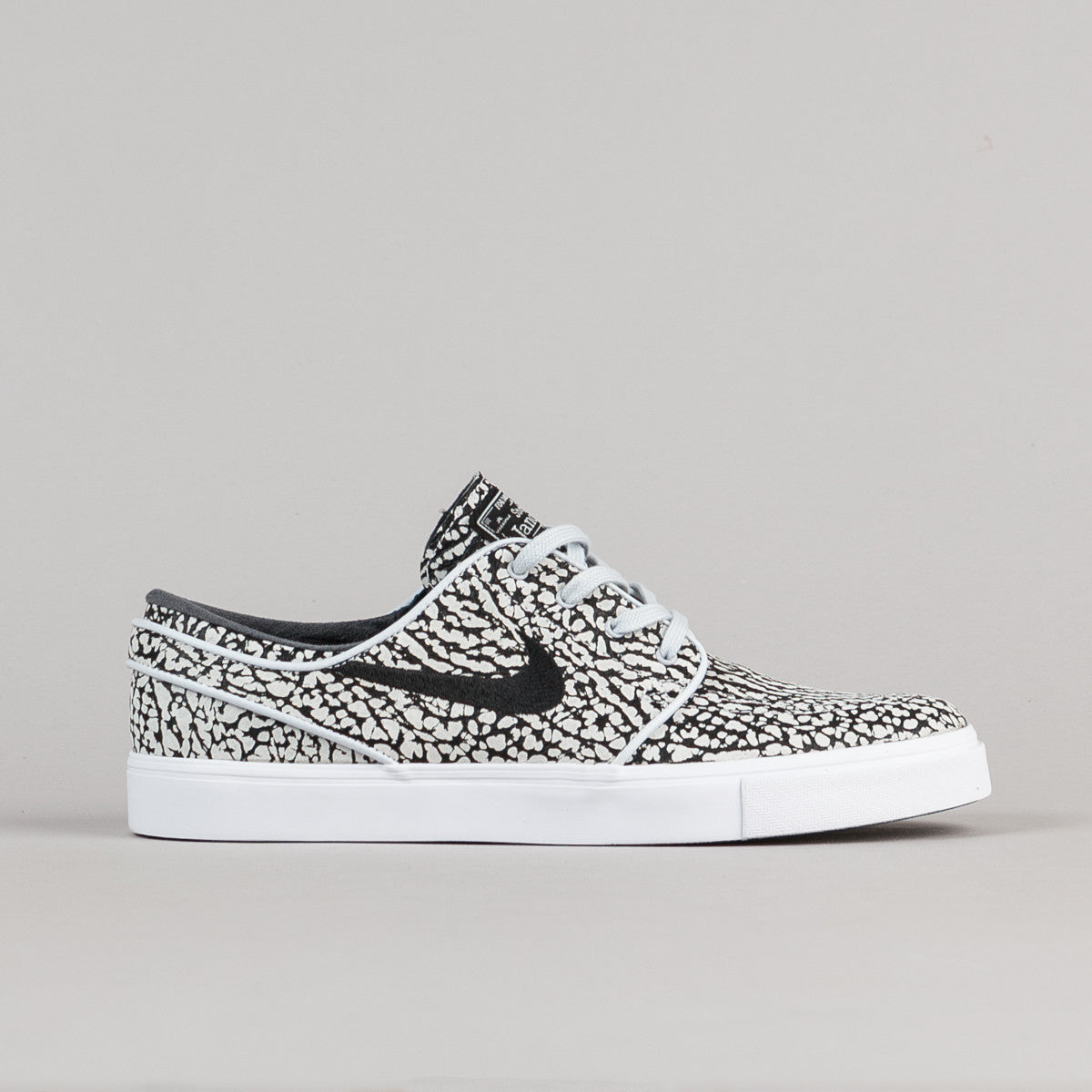 1c27bcc5b3a Nike SB Stefan Janoski Elite  Road Pack  Shoes - Pure Platinum   Black -  White