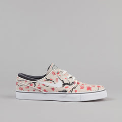 Nike SB Stefan Janoski Elite Shoes - Sail White / Hyper Pink - Black