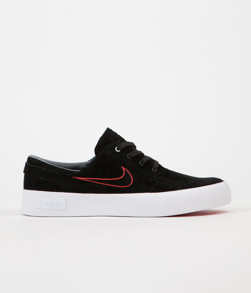 Nike SB Stefan Janoski HT Shane O'Neill Shoes - Black / University Red - White