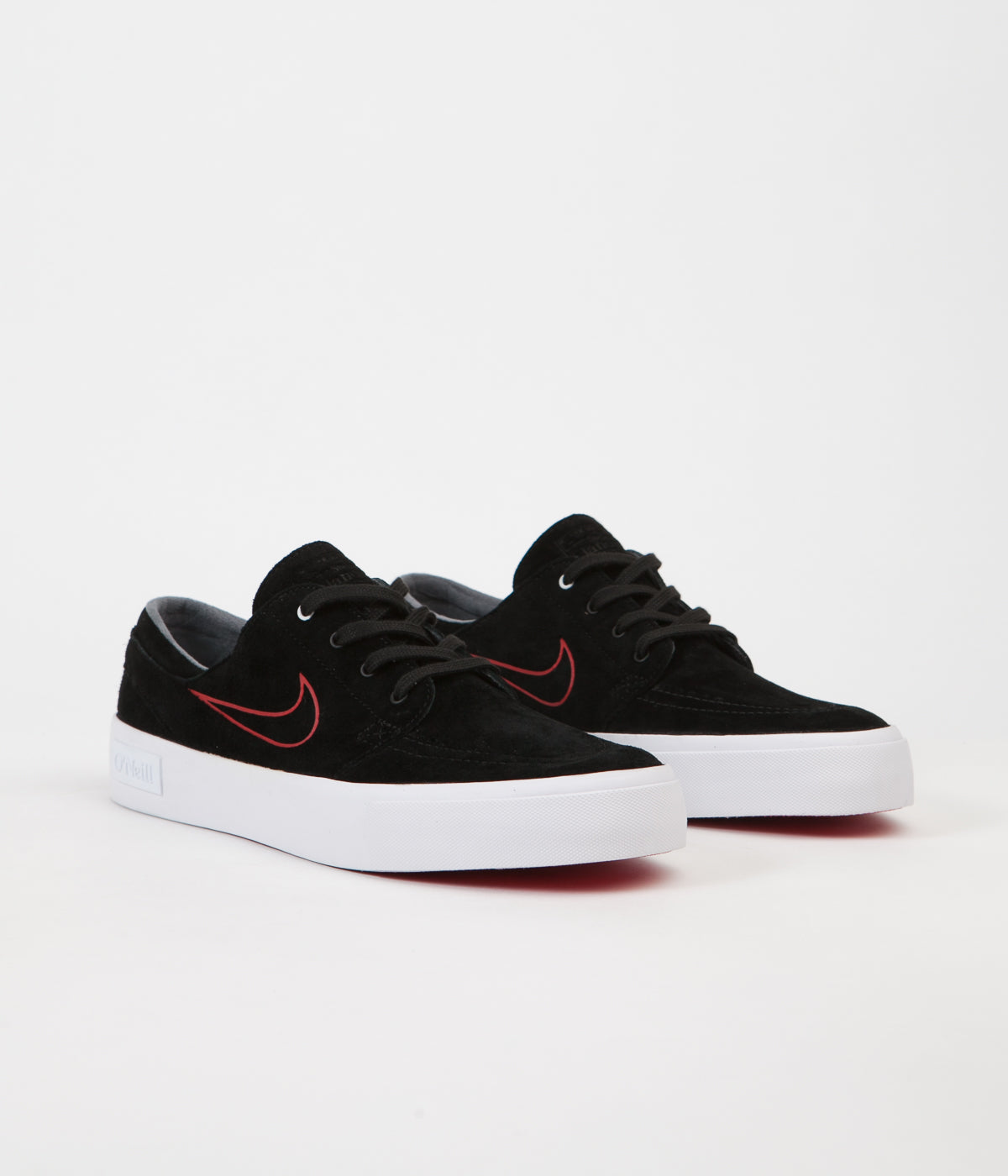 207ea6b94ea21f ... Nike SB Stefan Janoski HT Shane O Neill Shoes - Black   University Red  ...