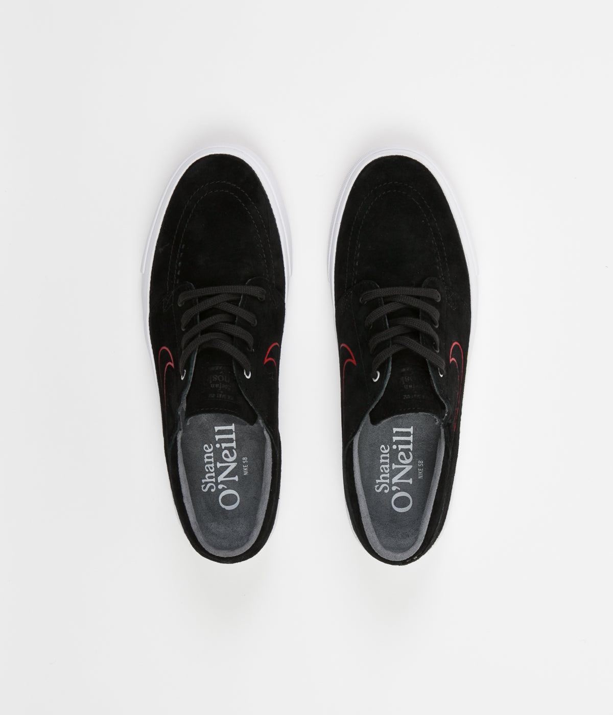 bd36d59c50b9 Nike SB Stefan Janoski HT Shane O Neill Shoes - Black   University Red ...