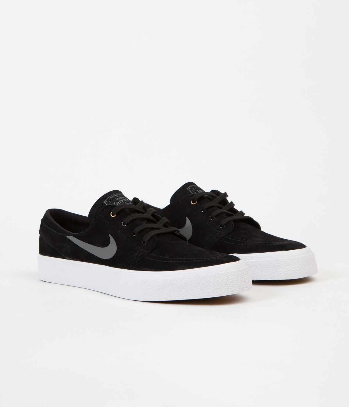 ... Nike SB Stefan Janoski HT Shoes - Black   Dark Grey - Metallic Gold -  White ... 71939e0ba