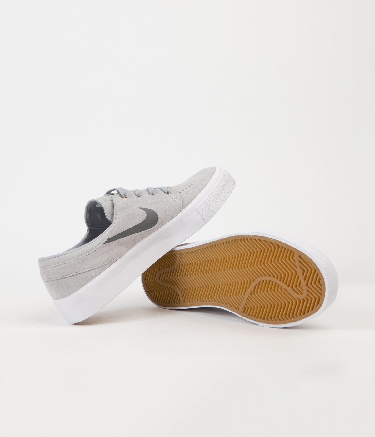 new arrivals 73e71 f5df2 ... Nike SB Stefan Janoski HT Shoes - Wolf Grey   Dark Grey - Metallic Gold  ...