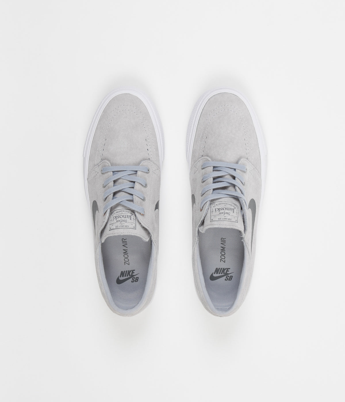 Nike SB Stefan Janoski HT Shoes - Wolf Grey   Dark Grey - Metallic Gold ... 4add97ecf