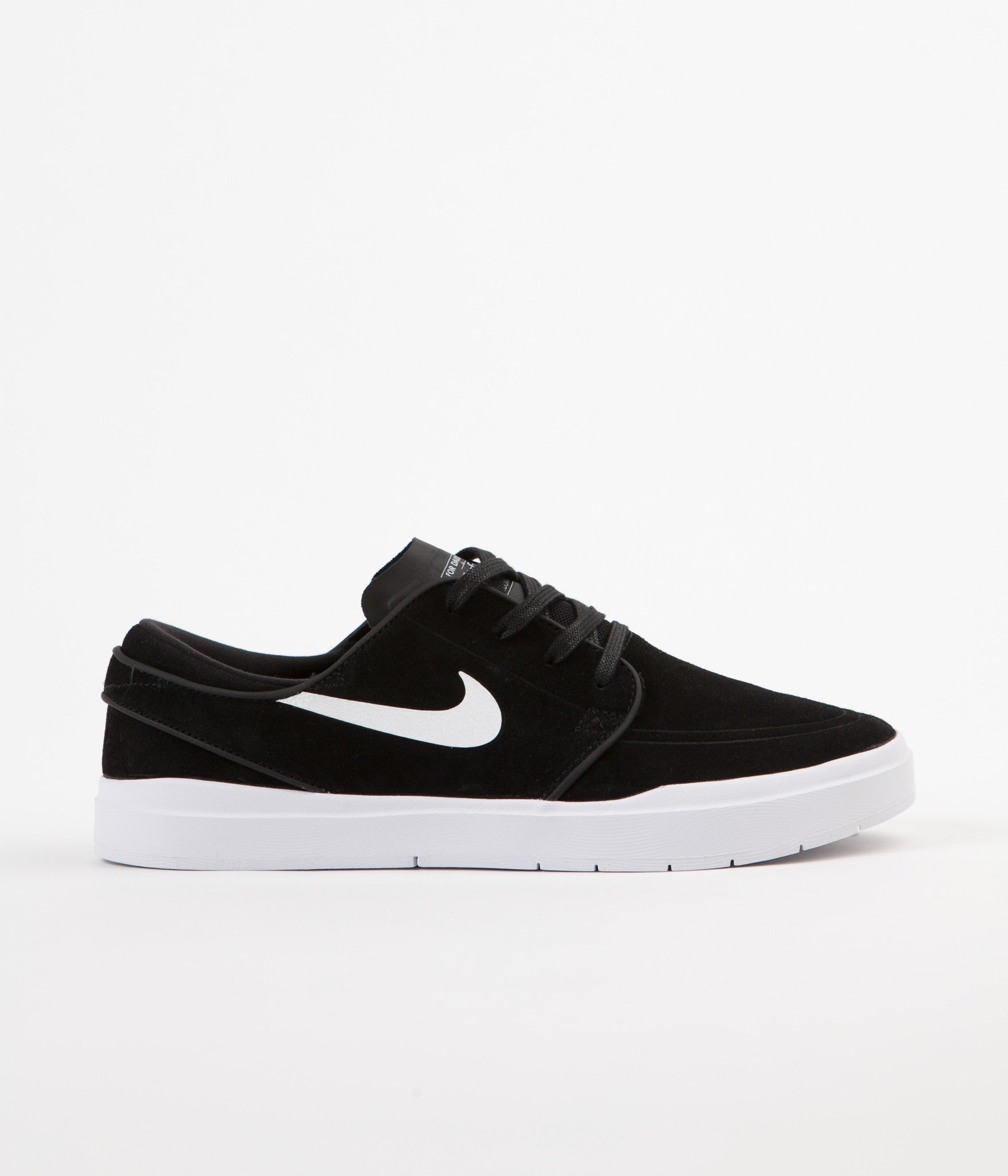 Nike SB Stefan Janoski Hyperfeel Shoes - Black / White | Flatspot