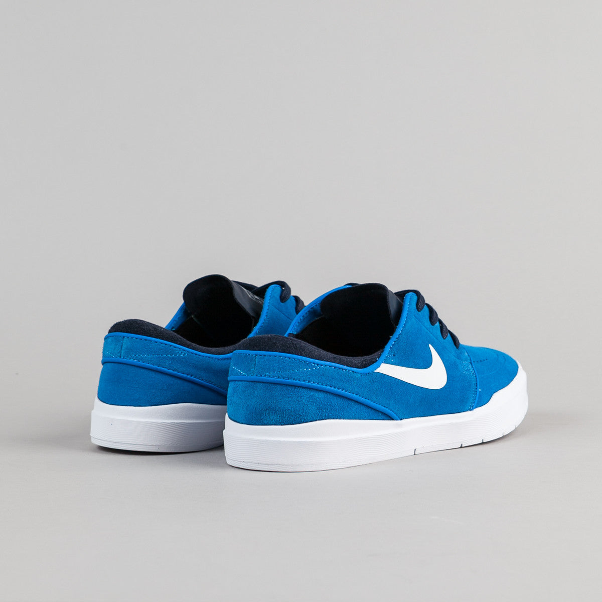 Nike SB Stefan Janoski Hyperfeel Shoes - Photo Blue / White - Obsidian