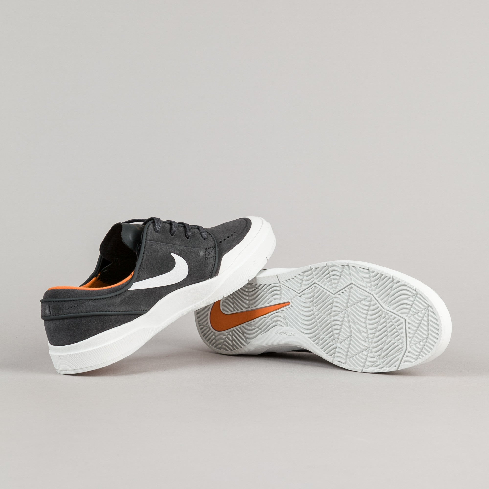 hot sale online f68f6 f70fa ... Nike SB Stefan Janoski Hyperfeel XT Shoes - Anthracite   White - Summit  White - Clay ...