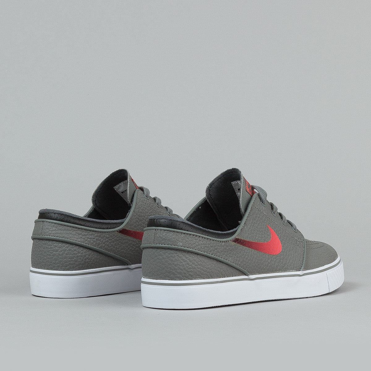 Nike SB Stefan Janoski L Medium Base Grey / Laser Crimson - Black