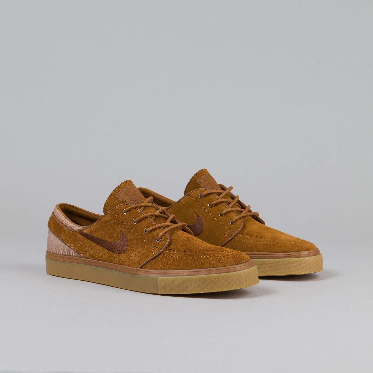 Nike SB Stefan Janoski Light British Tan / Dark Field Brown