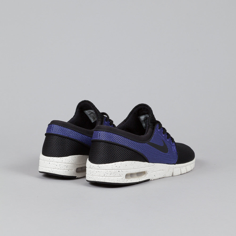 ... all white mens womens shoes; nike sb stefan janoski max black black  purple haze ivory ...