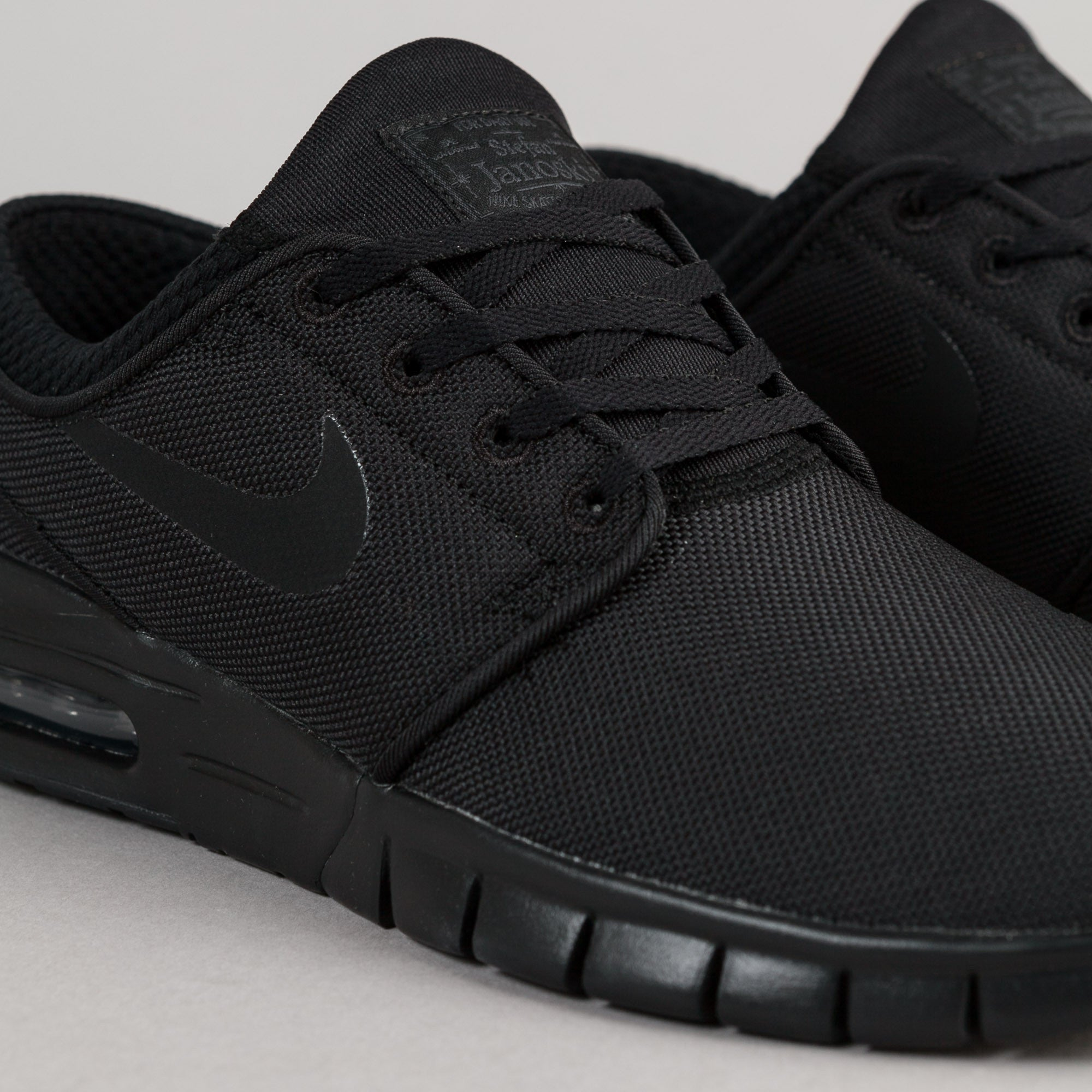 Nike SB Stefan Janoski Max Shoes - Black / Black - Anthracite