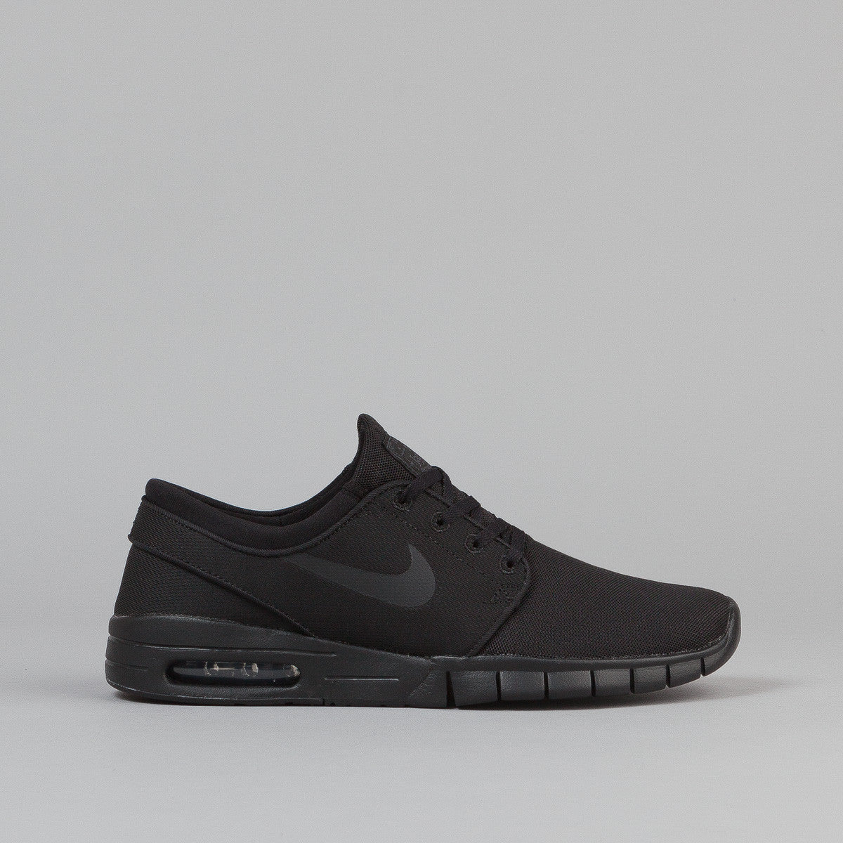 nike sb stefan janoski max shoes black black anthracite black flatspot. Black Bedroom Furniture Sets. Home Design Ideas