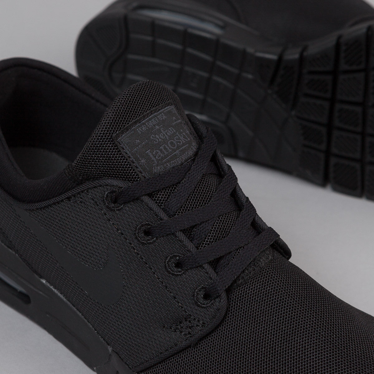 Nike SB Stefan Janoski Max Shoes - Black / Black - Anthracite - Black