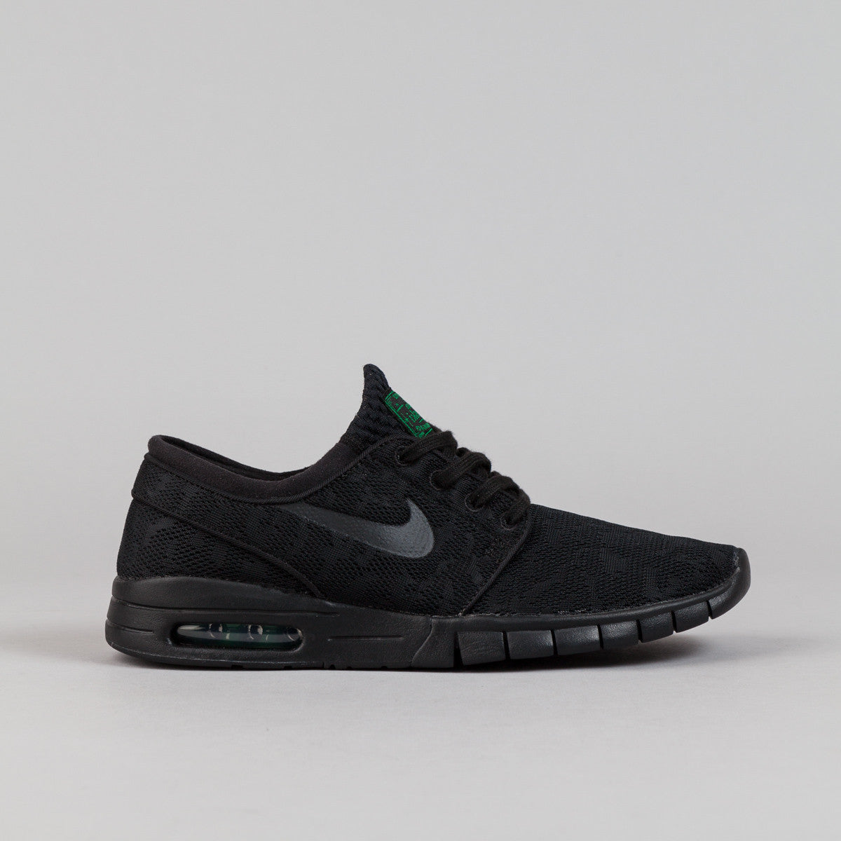 nike sb stefan janoski max shoes black black pine. Black Bedroom Furniture Sets. Home Design Ideas