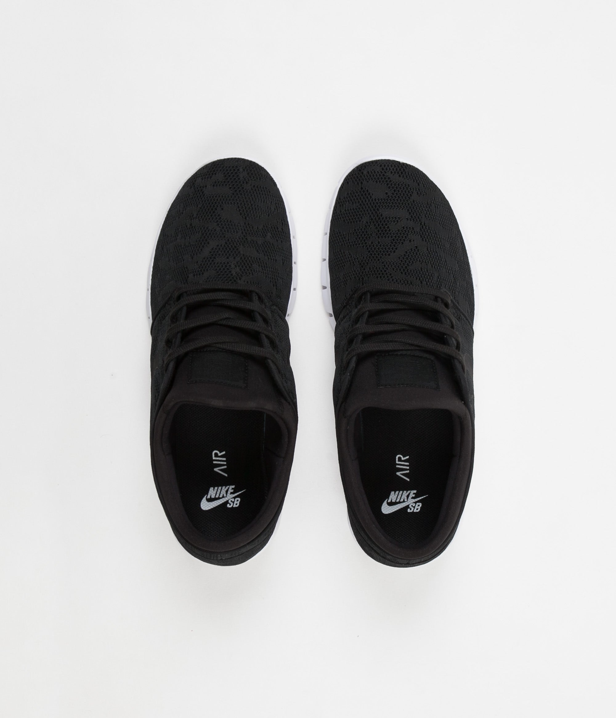Nike SB Stefan Janoski Max Shoes - Black / Black - White