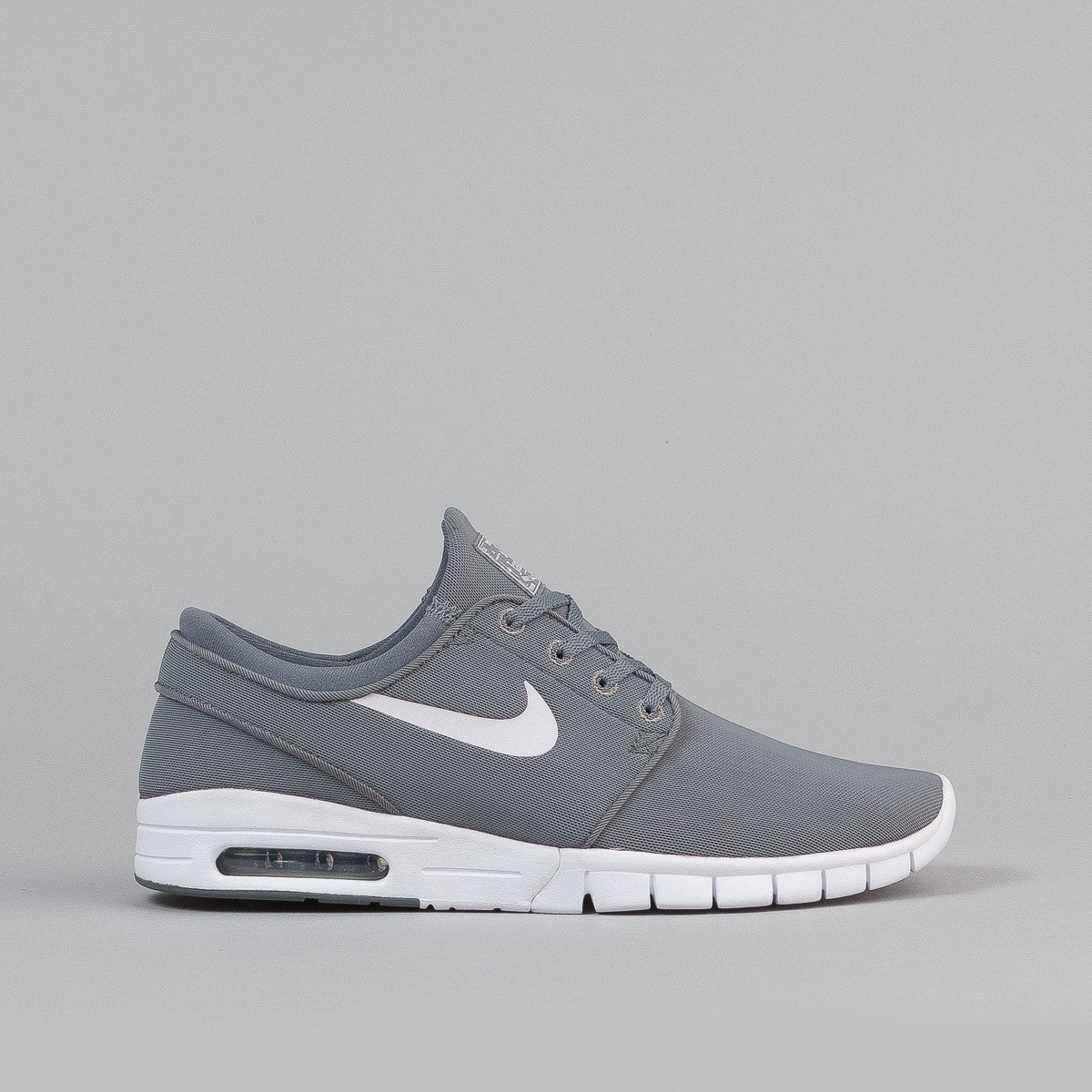 Nike Sb Stefan Janoski Max Shoes - Cool Grey/White-White-Dark Grey