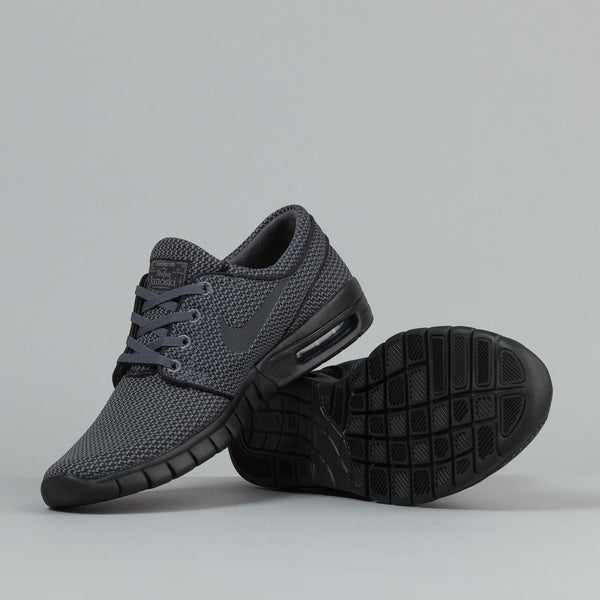 Nike Sb Stefan Janoski Max Shoes Dark Grey Black