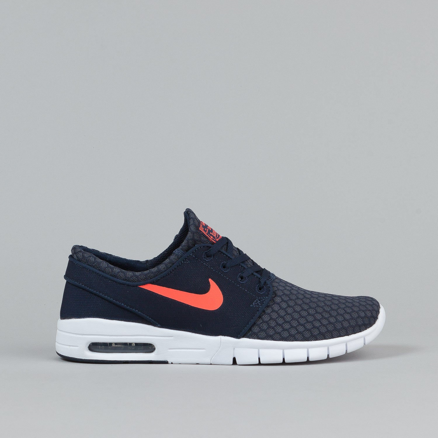 nike sb stefan janoski max shoes obsidian hot lava white flatspot. Black Bedroom Furniture Sets. Home Design Ideas